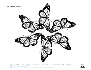 monarch butterfly design